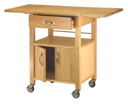 Winsome Wood Drop Leaf Kitchen Cart Winsome Http Www Amazon Com