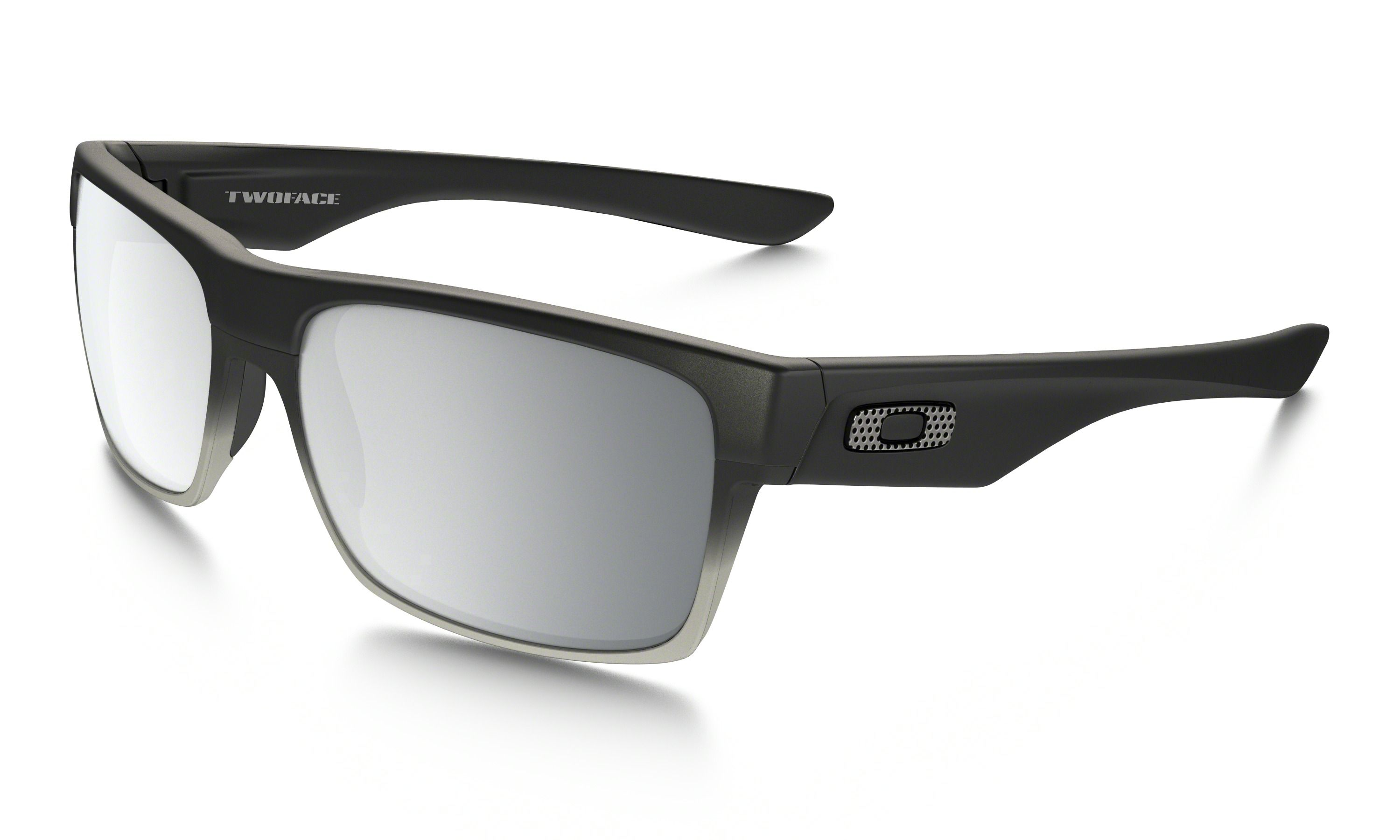 54c5df3310 Buy Oakley sunglasses for Mens TwoFace™ Machinist Collection with Matte  Black frame and Chrome Iridium