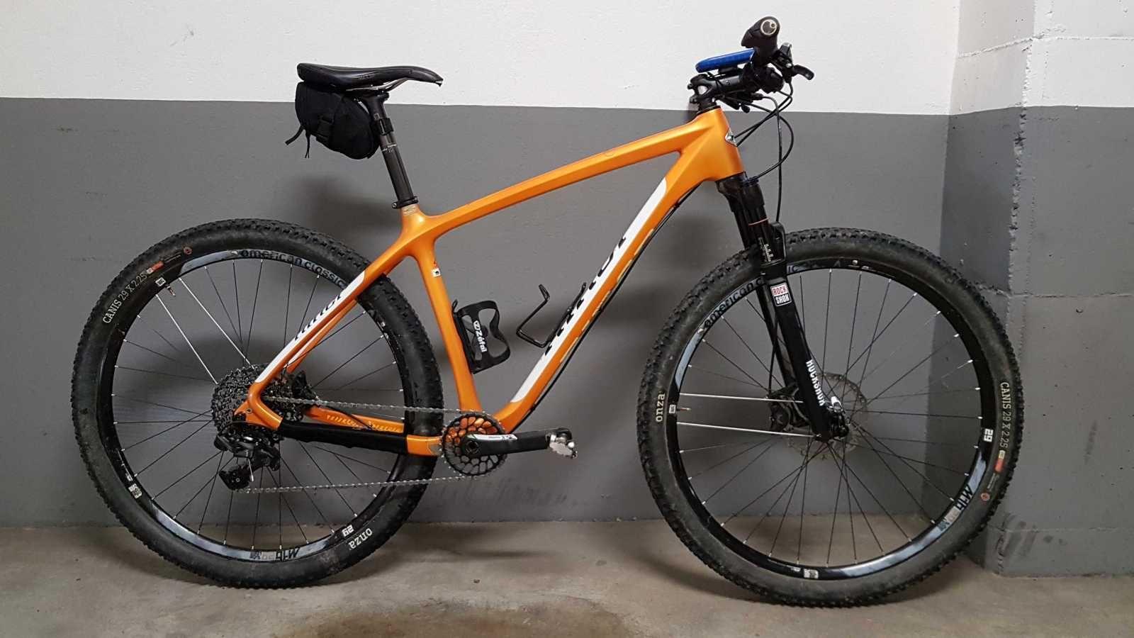 Bicicleta de montaña Niner AIR 9 CARBON. Ref 40001. Talla