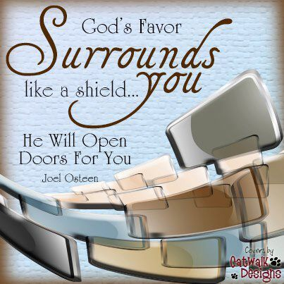 For You O Lord Will Bless The Righteous With Favor You Will