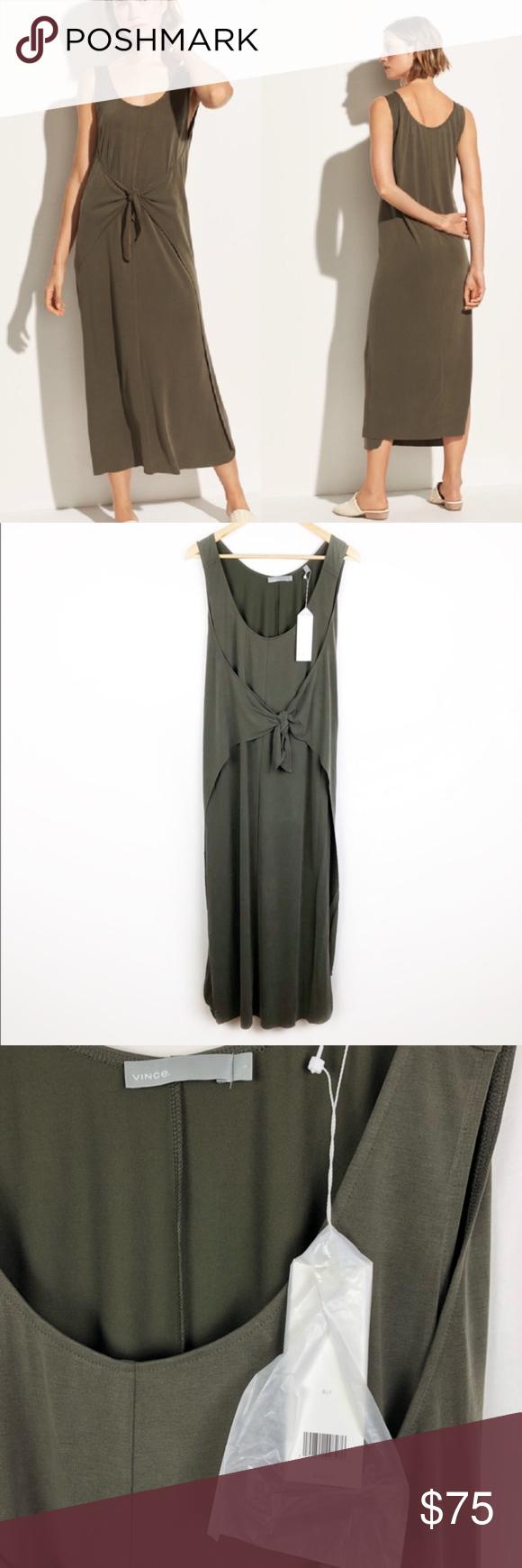 Nwt Vince Sleeveless Wrap Maxi Dress Bayleaf A64 Nwt Vince Sleeveless Wrap Maxi Dress In Bayleaf Super Soft And Stretchy B Maxi Wrap Dress Maxi Dress Dresses [ 1740 x 580 Pixel ]