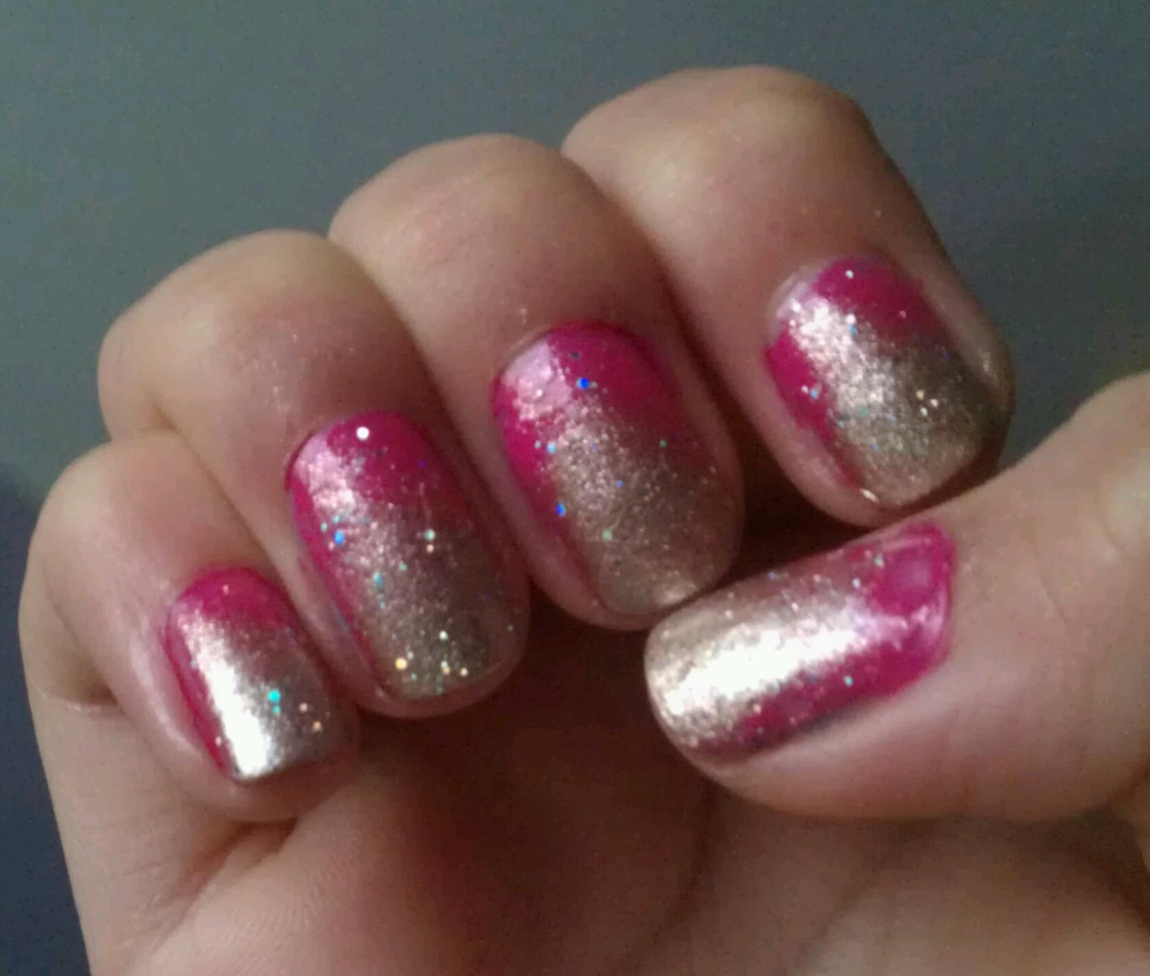 The Hunger Game \'Effie Trinket Nails\'   Nailed It   Pinterest   Mani ...