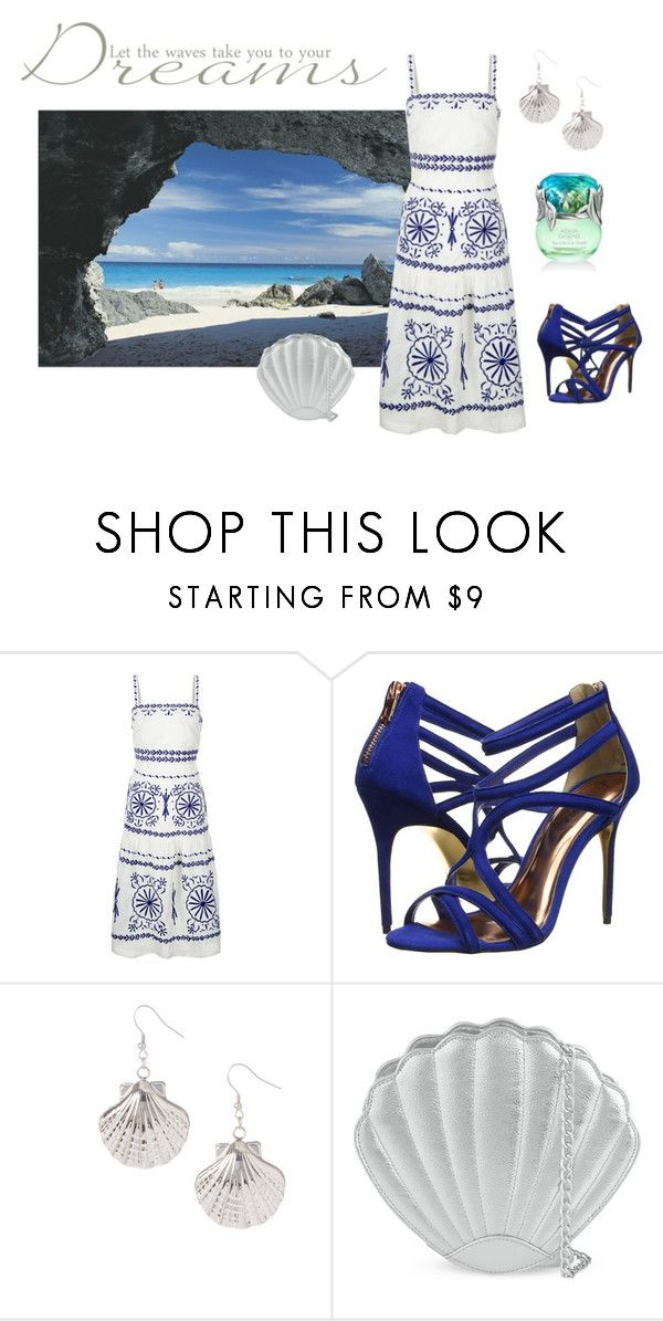 """""""Summer Dress"""" by fashionfan-8 ❤ liked on Polyvore featuring Monsoon, Ted Baker, Yeidid and Skinnydip"""
