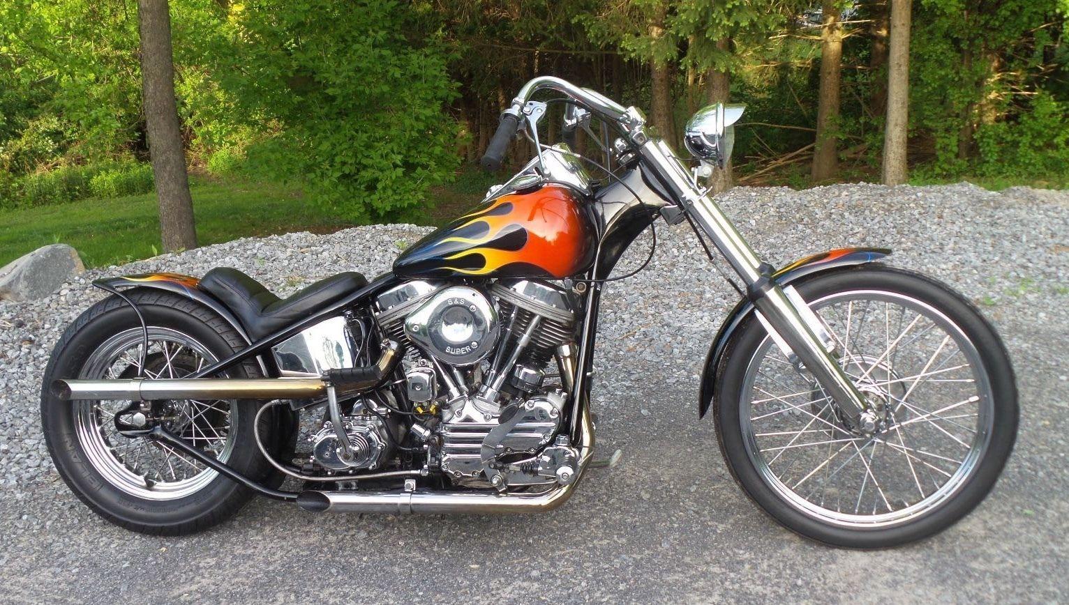 eBay: 1958 Harley-Davidson PANHEAD FL 1958 HARLEY DAVIDSON PANHEAD