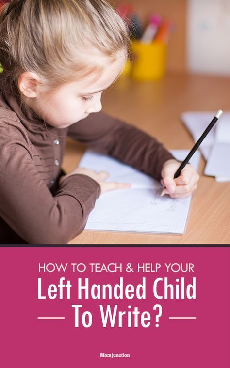 how to teach a left handed child to write  left handed
