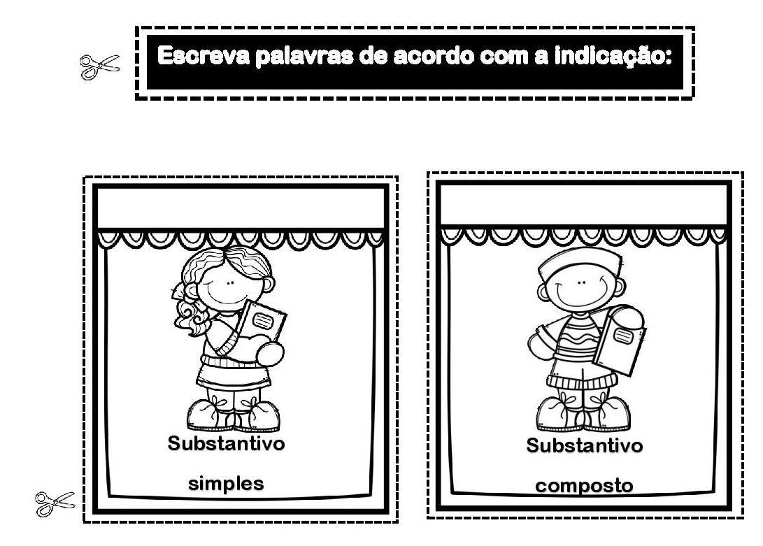 Substantivo Comum E Composto Atividade Interativa Page 002 Jpg