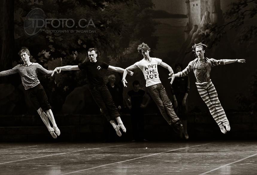 Mikhailovsky Ballet, Swan Lake Rehearsal