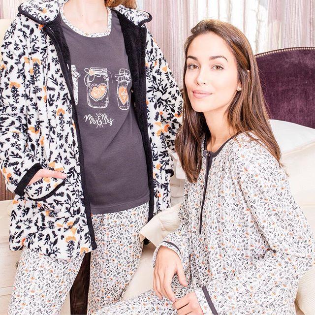 92ce8a930b75f  pijama  invierno  mujer señora bata winter pyjama woman women coat  homewear sleepwear moda