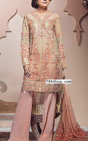 890af11d1b3 Peach/Pink Chiffon Suit | Buy Imperial Textile Pakistani Chiffon ...