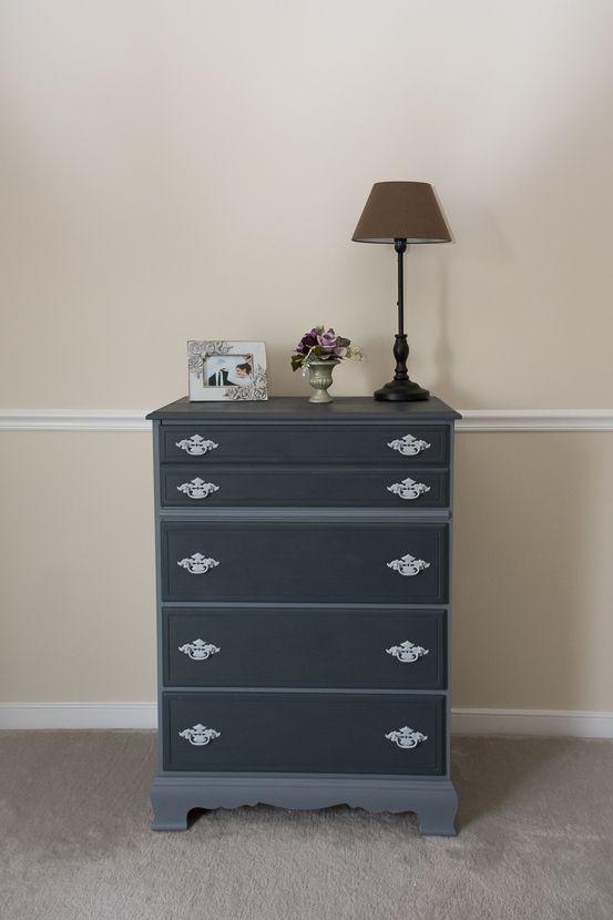 My favorite project so far! Painted dresser using Americana Decor