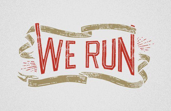 Nike We Run by Jon Contino 4395443bf7ed
