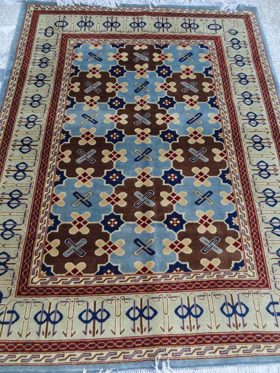 Nice Fine Afghan Rug Carpet Hand Made In Afghanistan Nice