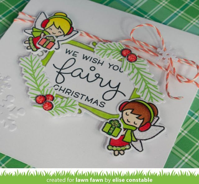 Hello and welcome to Lawn Fawn's September 2016 Inspiration Week! We are just so excited about this week! We are featuring 4 stamp sets, 9 standalone die sets, and our Perfectly Plaid Christmas collec
