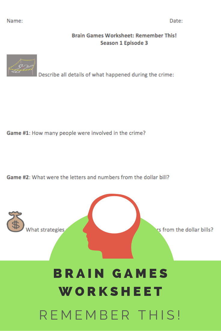 It's just a picture of Short Term Memory Exercises Printable regarding memory improvement