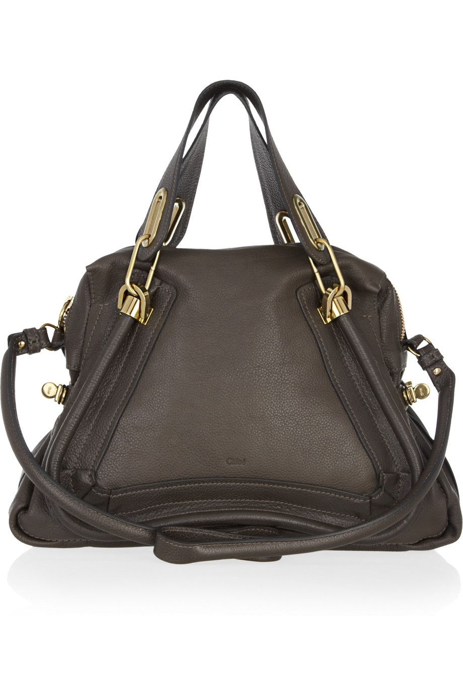 ChloeParaty Medium leather bag