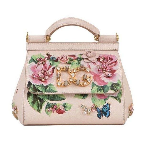 36e3c86fada6 Mini Sicily Bag With Roses ( 2