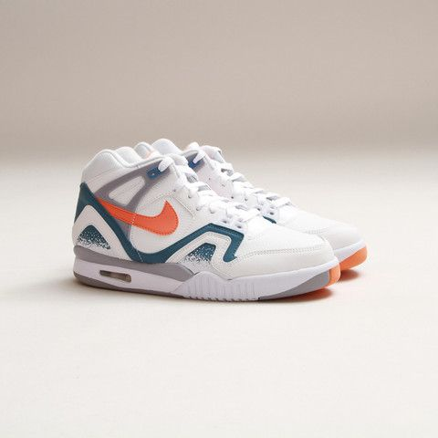 CNCPTS / Nike Air Tech Challenge II (White/Orange Burst-Clay Blue)