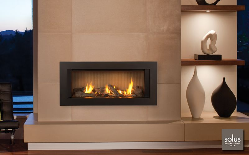Valor L1 Linear Series Modern Fireplace Mantles Contemporary