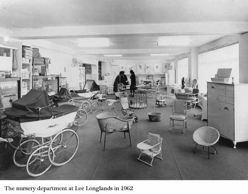 Vintage 1960s Baby Nursery Department Store Nursery