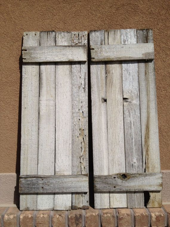 Reclaimed Wood Shutters WB Designs - Reclaimed Wood Shutters WB Designs