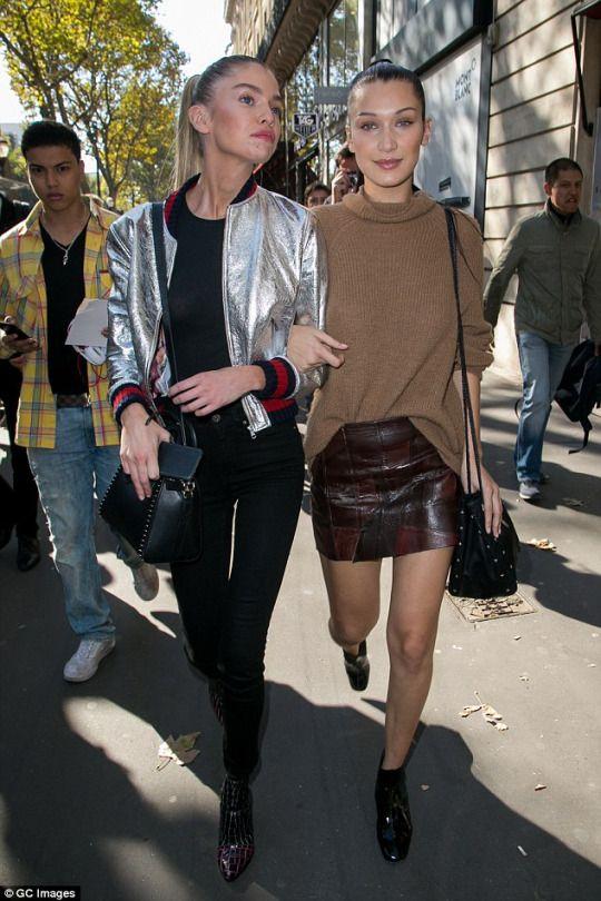 Bella Hadid Stella Maxwell | Street Style - Fashion - Cool ...