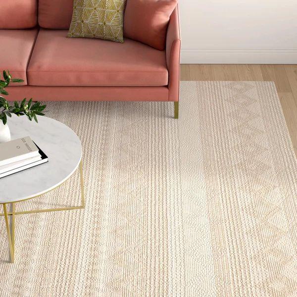 Billie Geometric Handmade Flatweave Beige Ivory Area Rug In 2021 Area Rugs Natural Area Rugs Flat Weave