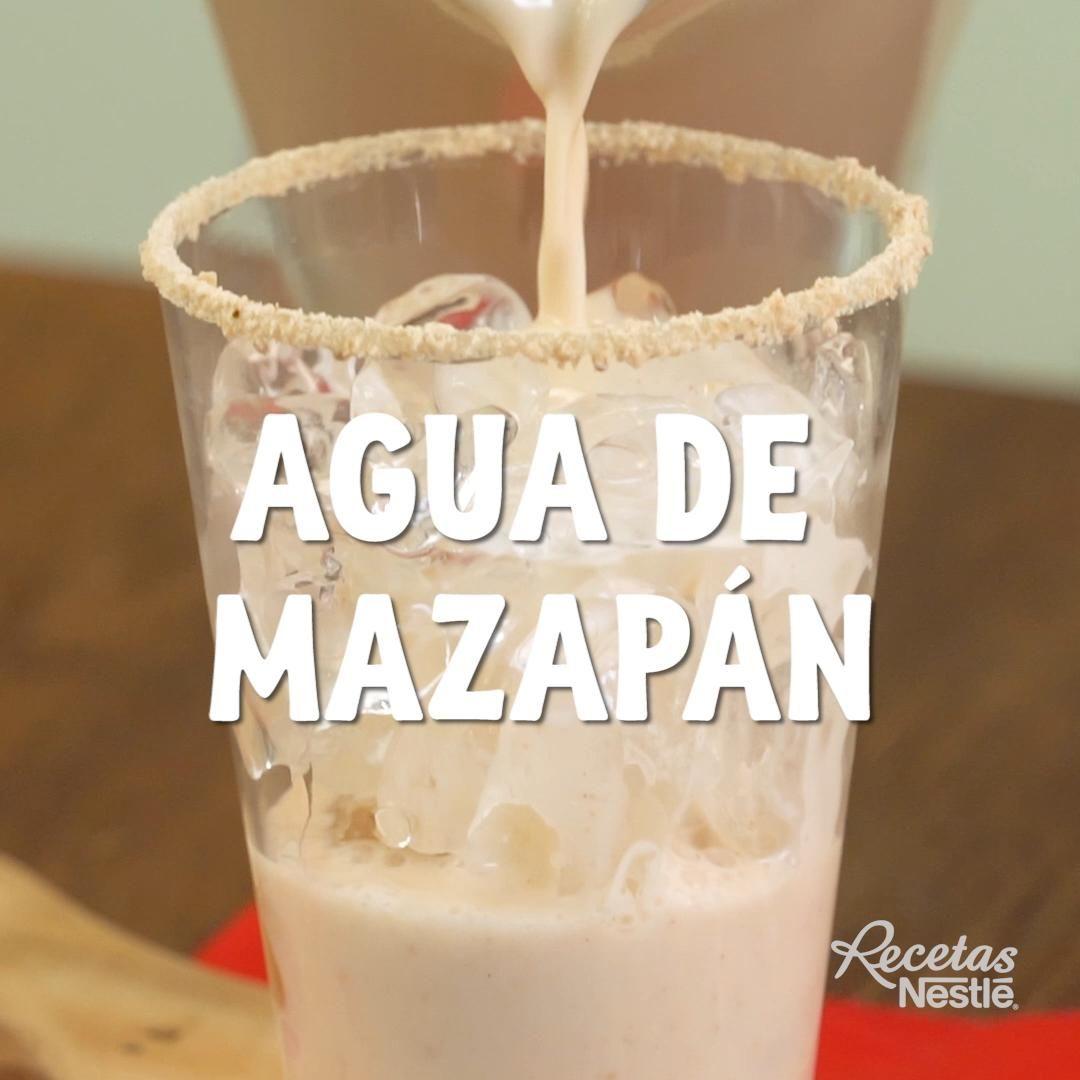 Agua de mazapán