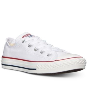 2bfc51301282 Converse Little Boys    Girls  Chuck Taylor Original Sneakers from Finish  Line - White 12