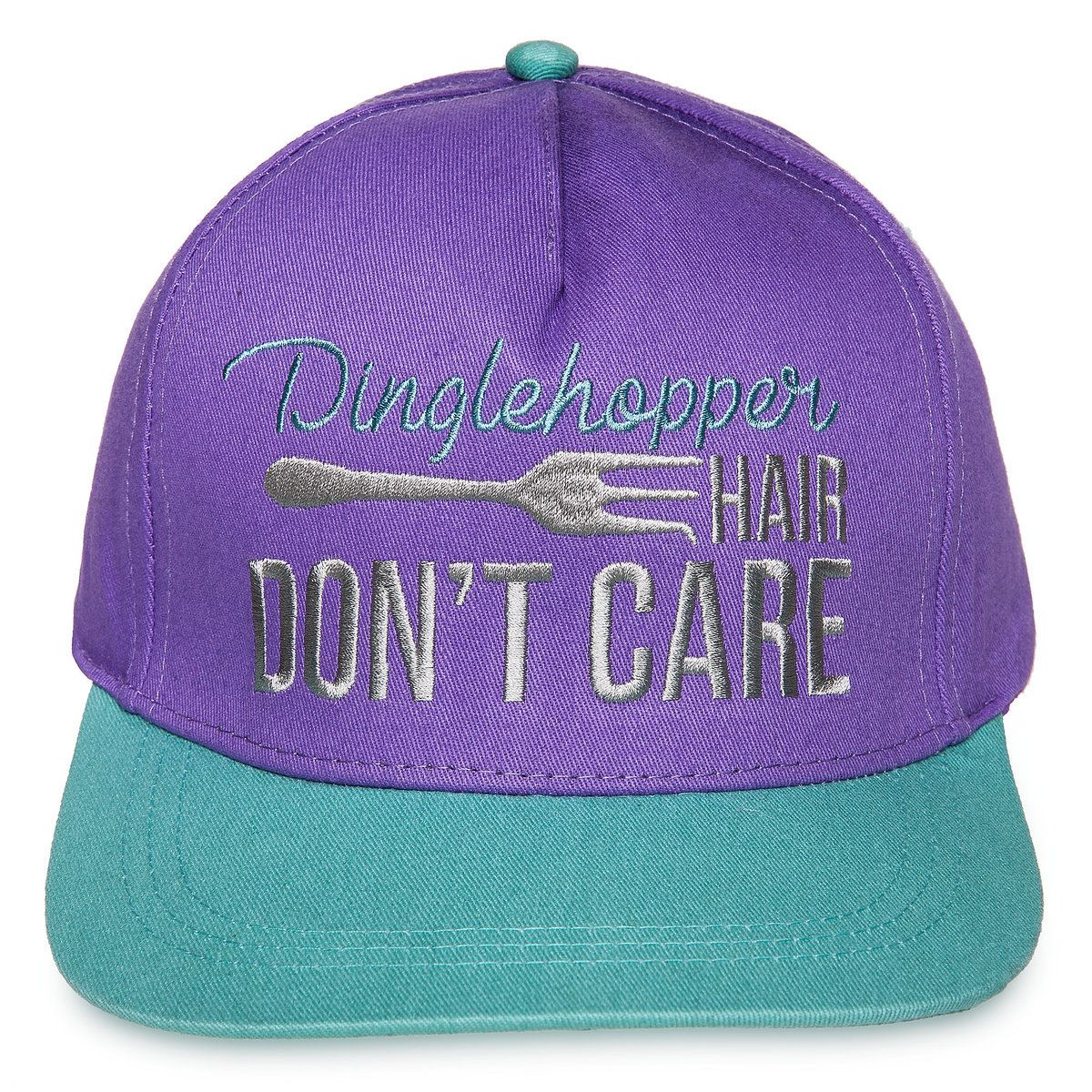 Dinglehopper Hair Don T Care Baseball Cap For Adults The Little Mermaid Disney Hats Disney Outfits Little Mermaid Outfit
