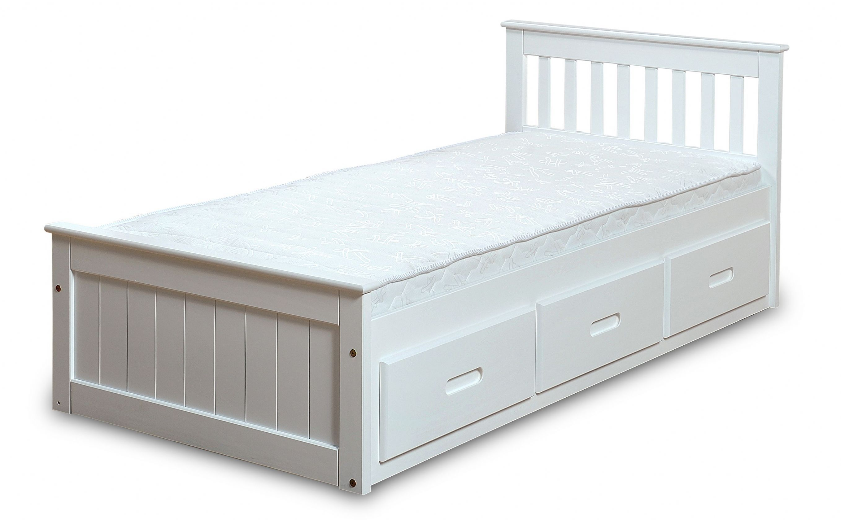 Children S Beds With Built In Drawers Mission Children S 3ft Single Wooden Bed With 3 Drawers Single Beds With Storage Bed Storage Drawers Single Wooden Beds