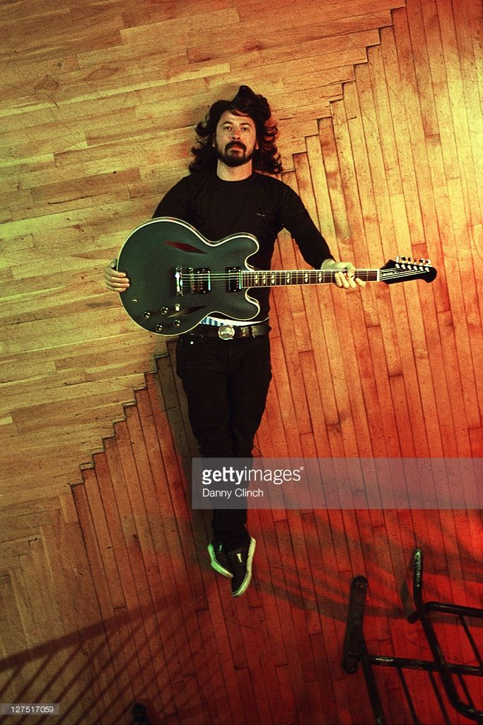 Musician Dave Grohl is photographed for People Magazine on September 20, 2007 in New York City.