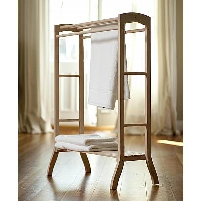 wooden towel stand bathroom ideas pinterest towels wardrobe cabinets and diy furniture. Black Bedroom Furniture Sets. Home Design Ideas