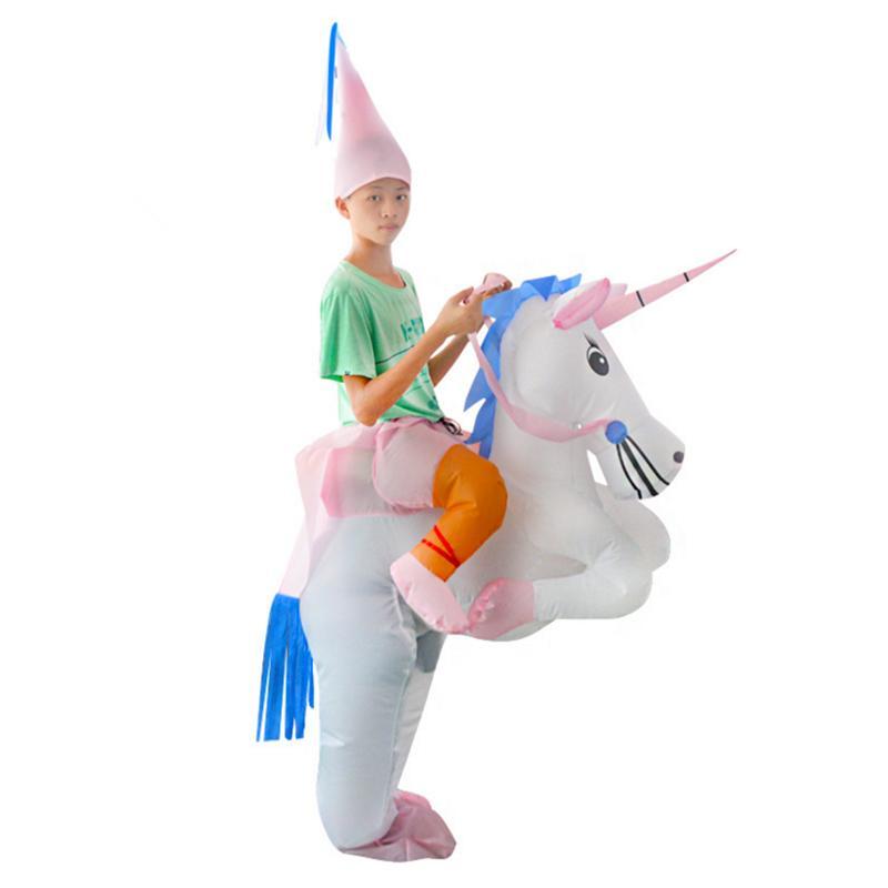 HOT Adult Halloween Costumes Inflatable Unicorn Costumes