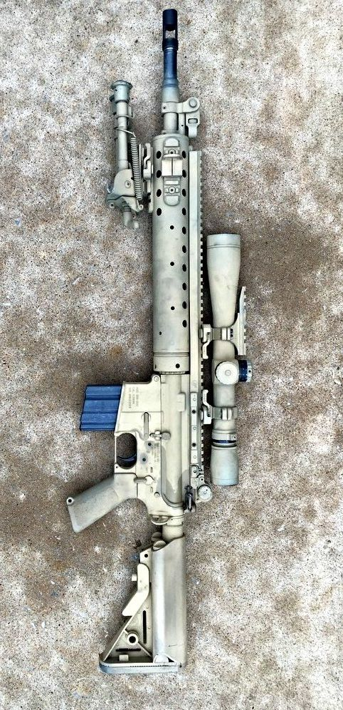 Mk12 Mod 1 SPR The United States Navy Mark 12 Mod 0/1 ...