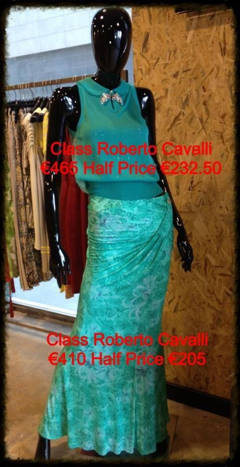 Great Price Reduction on the famous Roberto Cavalli Styles! Visit SYL Designer Fashion Brand Outlet at the PLaza Shopping Centre!