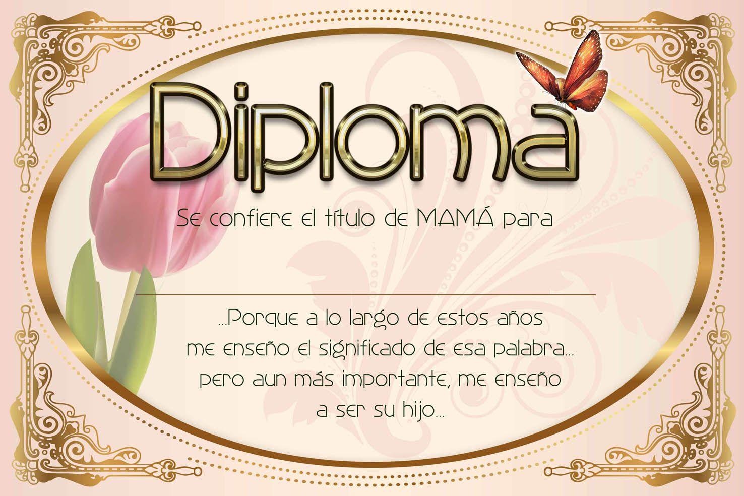 diploma para mi mama | ... diseñador grafico+* plantillas para ...