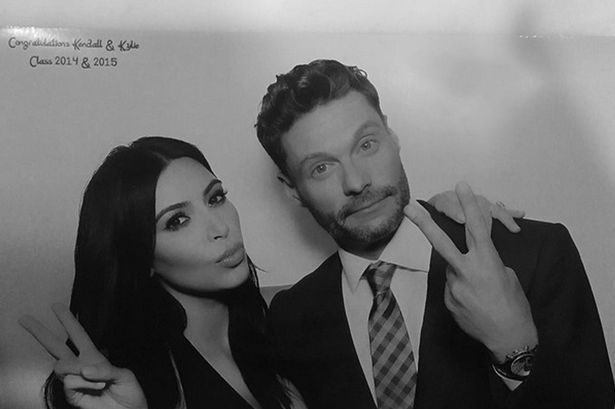 Kim kardashian photo booth