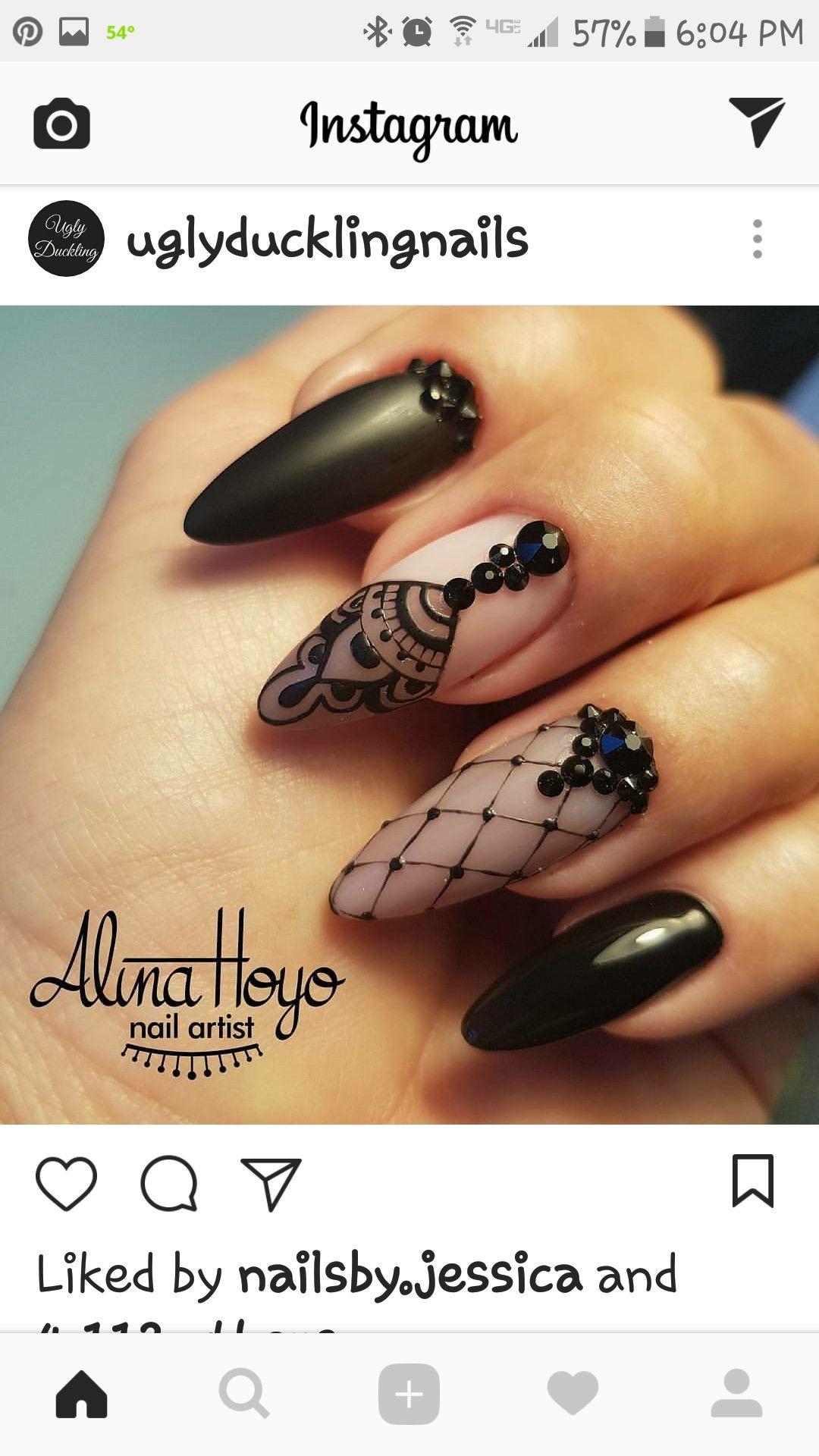 Pin von Megan Holcomb auf Nails | Pinterest | Nageldesign ...