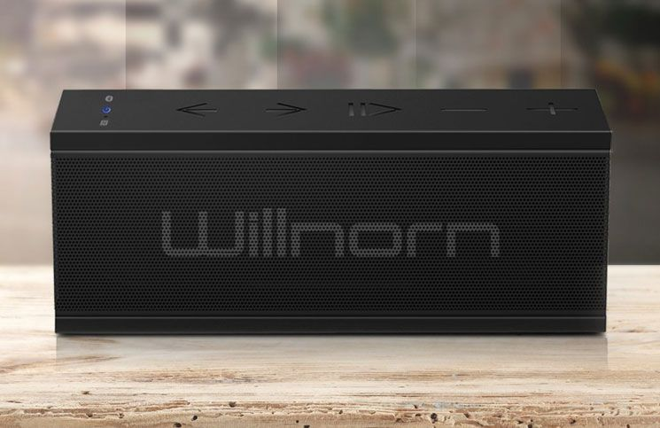 Willnorn SoundPlus Bluetooth speaker for iPhone and iPad delivers the unmatched…