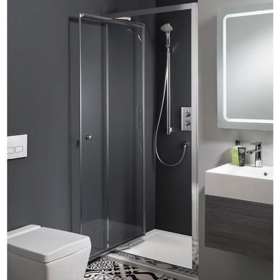 Crosswater Simpsons Edge Infold Shower Door Shower Doors Shower Enclosure Bathroom Interior