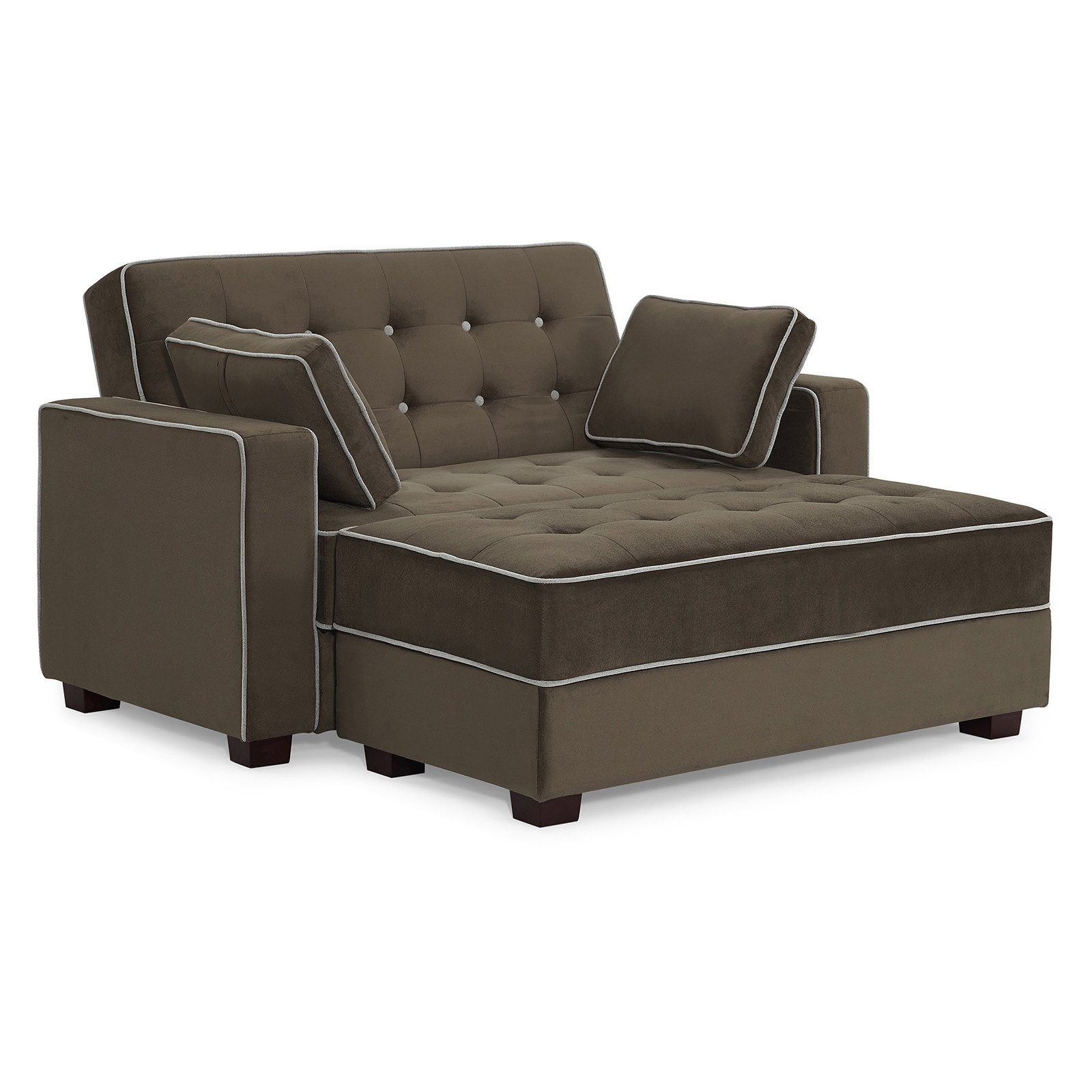 Miraculous Sealy Belize Convertible Storage Loveseat With Ottoman In Pabps2019 Chair Design Images Pabps2019Com