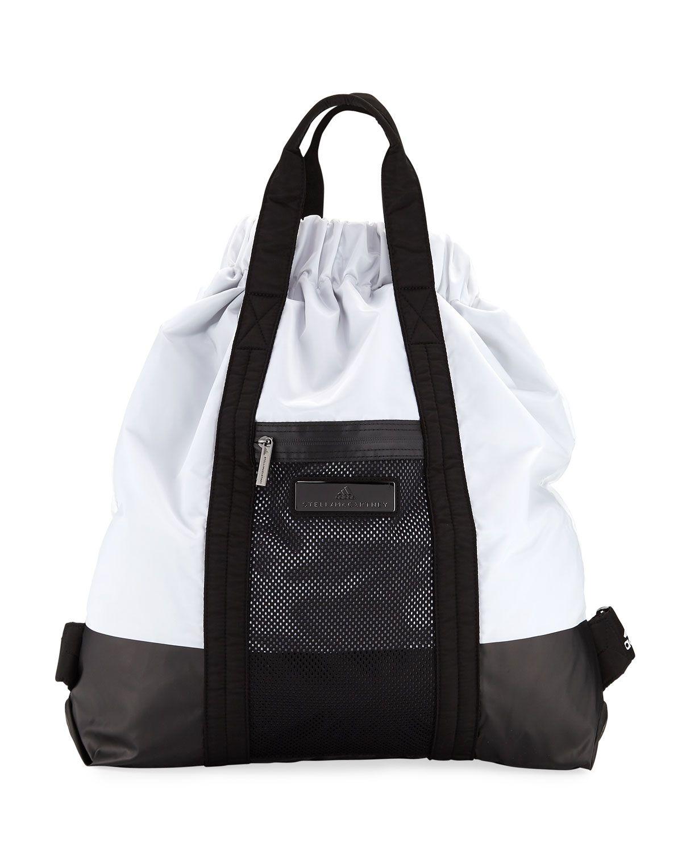 Adidas By Stella Mccartney Open Top Gym Sack Bag