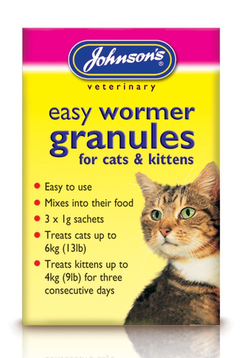 Johnsons Easy Wormer Granules For Cats and Kittens 300g