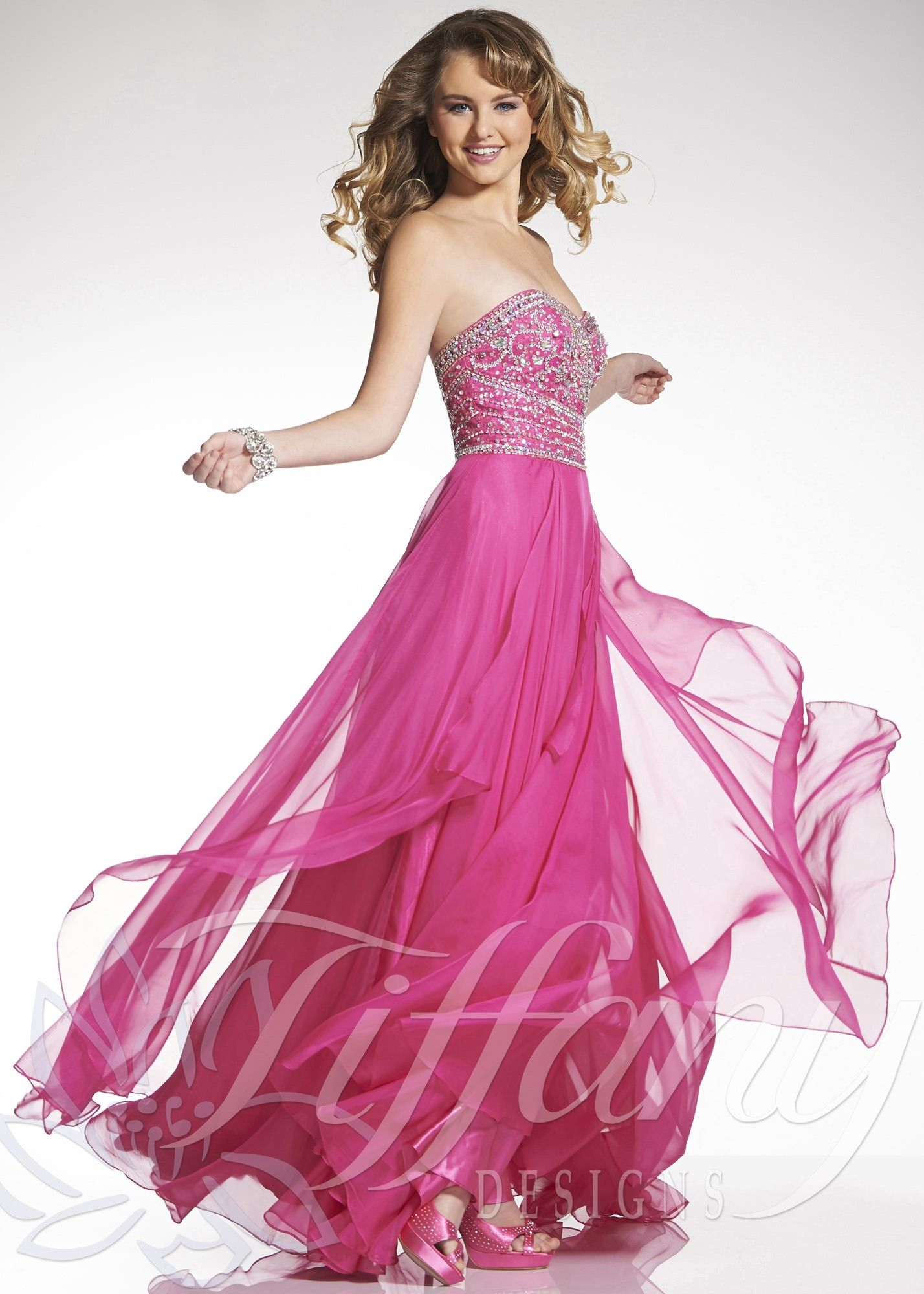 Tiffany Designs 16046 Sweetheart Sequined Gown | Dresses | Pinterest