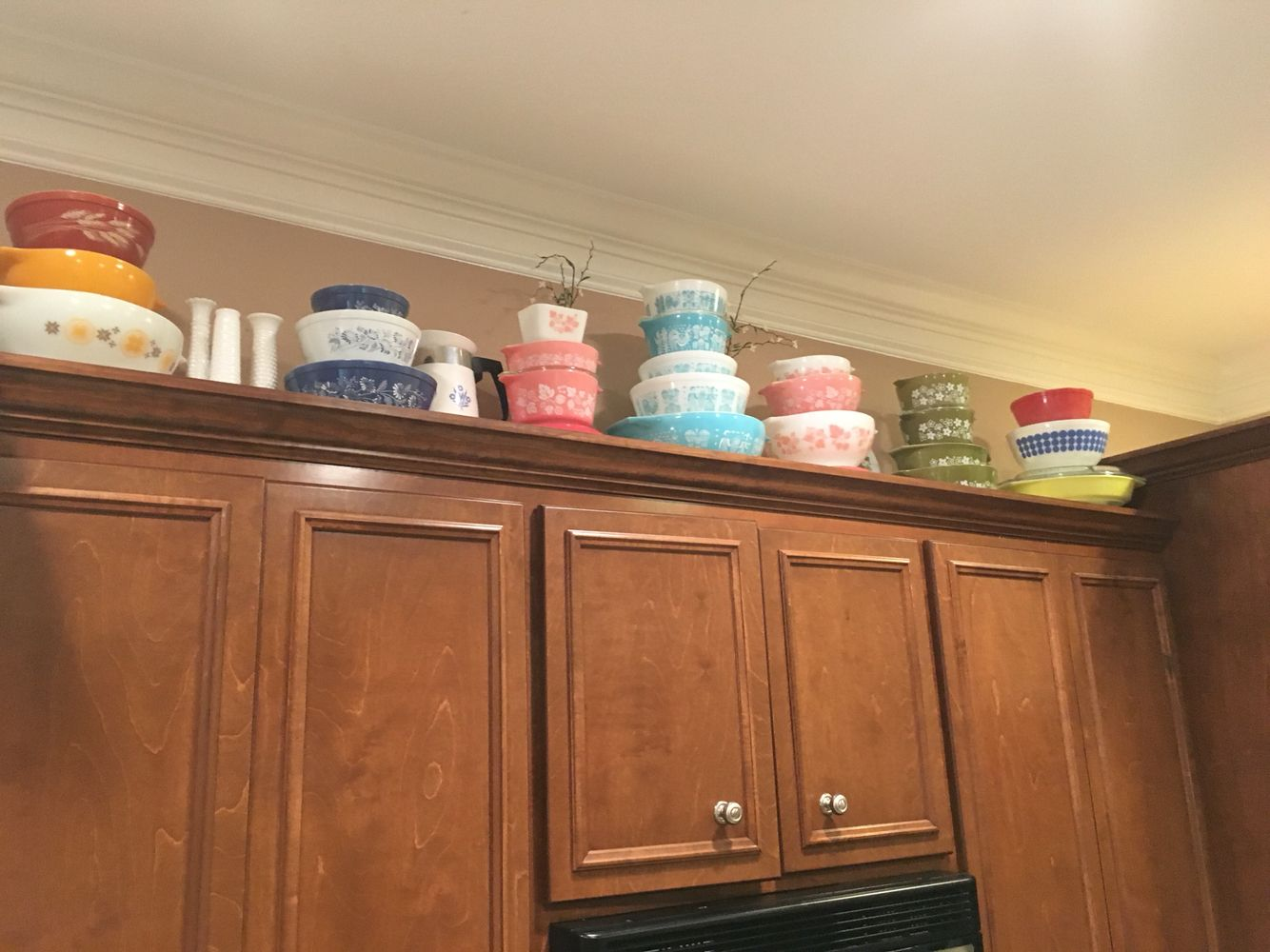 My #pyrex collection I started this year!