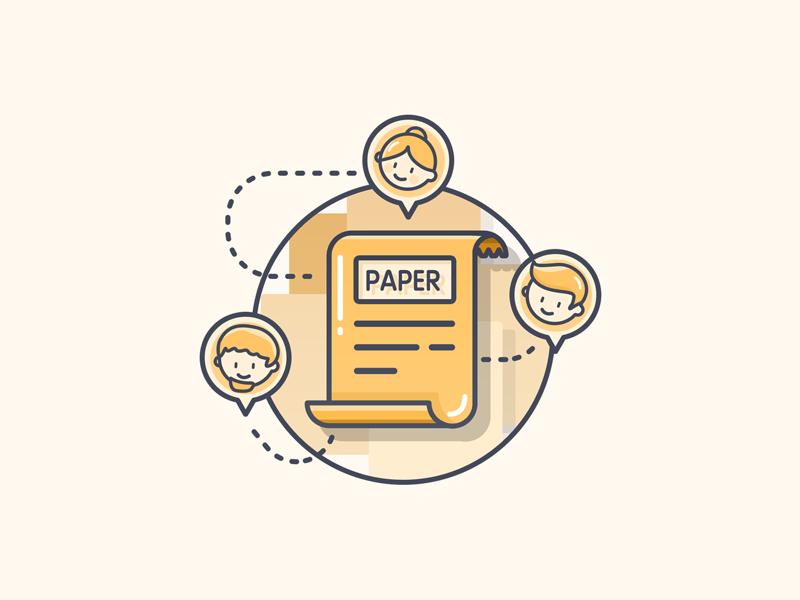 Paper Icon Icon Paper Icon Design