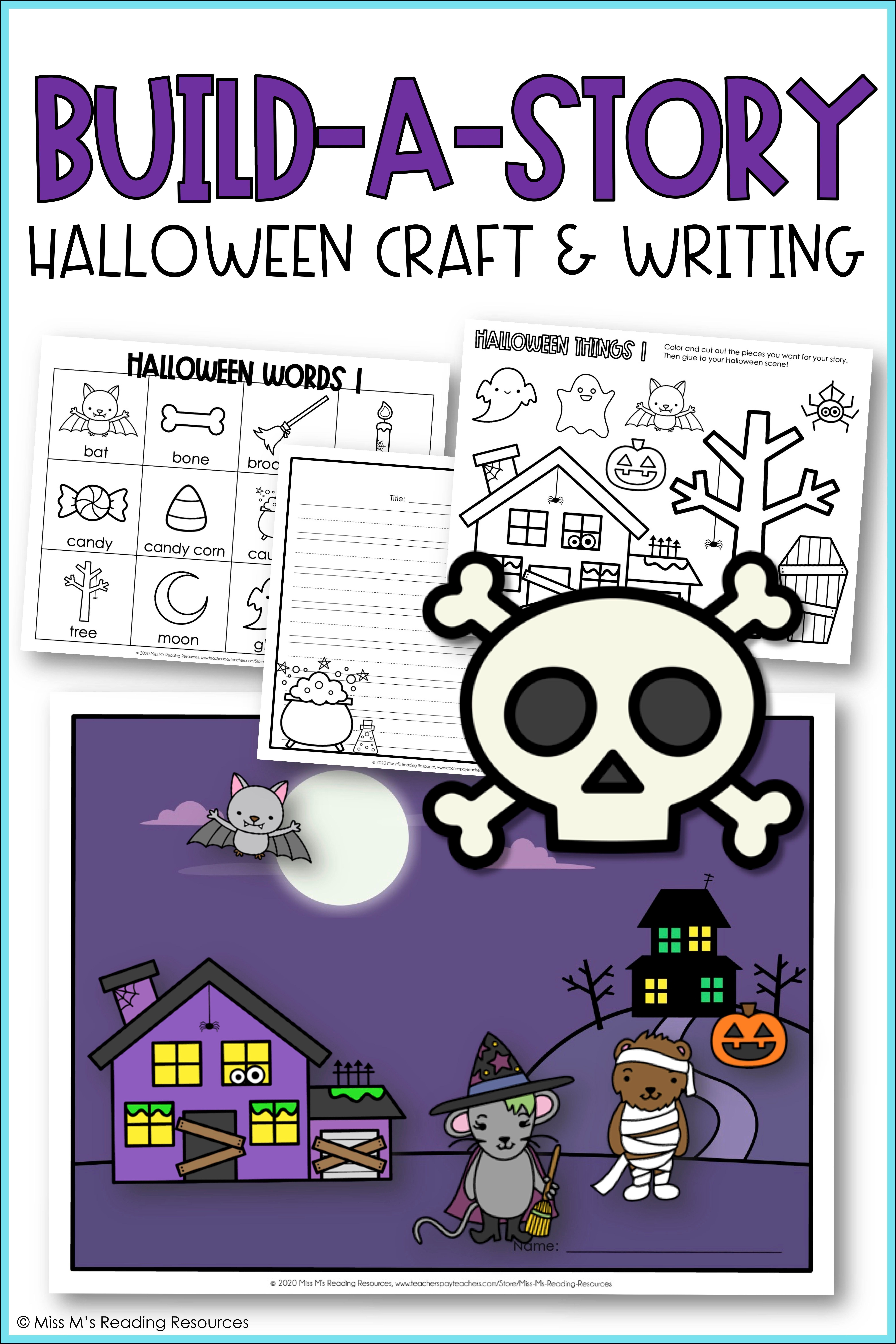 Halloween Craft And Writing