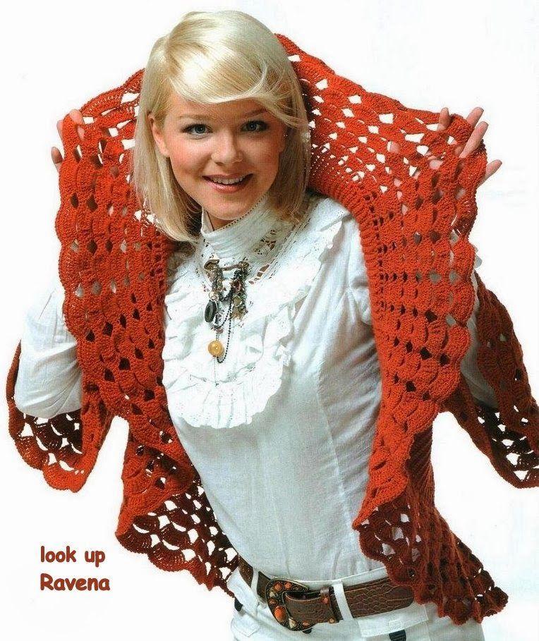 Bolero Circular con Cuello Redondo Patron - Patrones Crochet ...