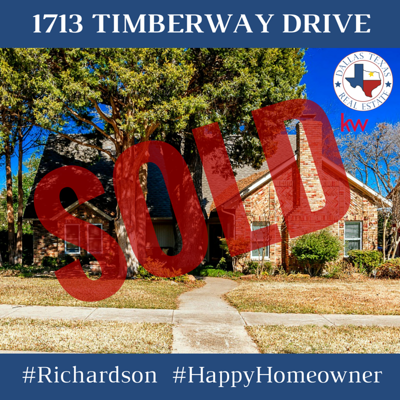 This wonderful update Richardson home is SOLD! #Richardson #HappyHomeowner #DallasRealEstate