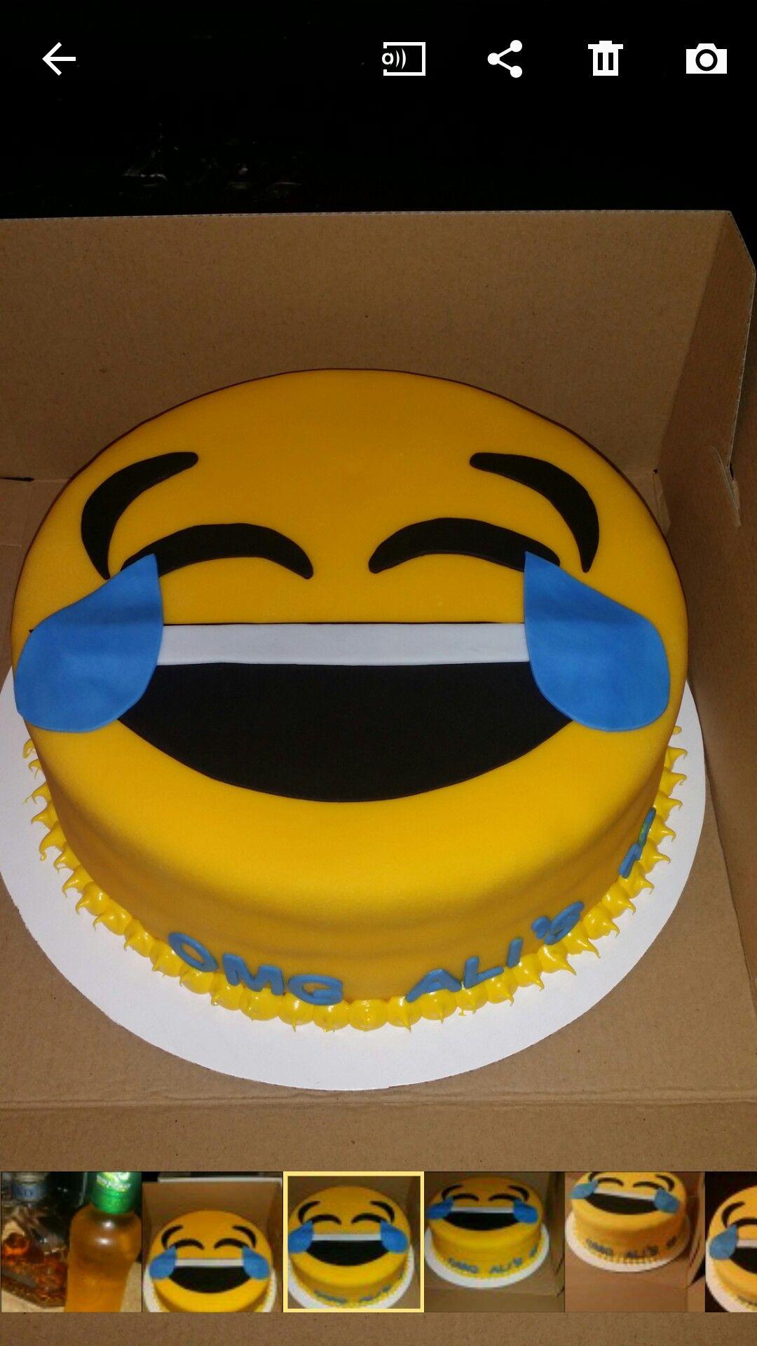 Emoji Cake By Me Cakes Emoji Cake Cake Birthday Cake